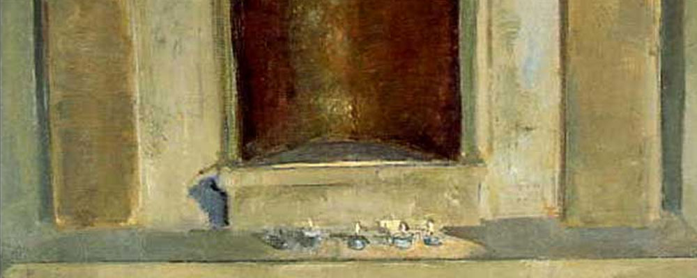 """Templum Contemplatio"" en la pintura de Gloria Muñoz"