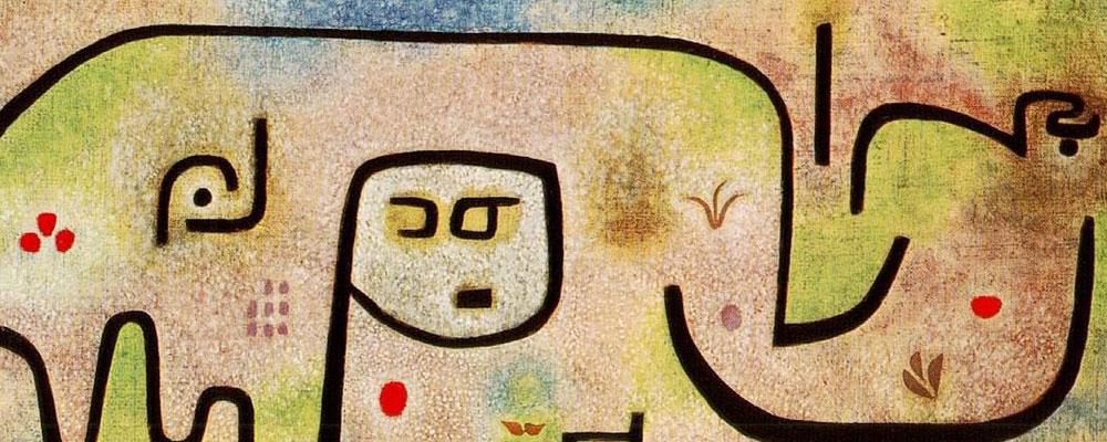 Klee y el diálogo con la naturaleza.