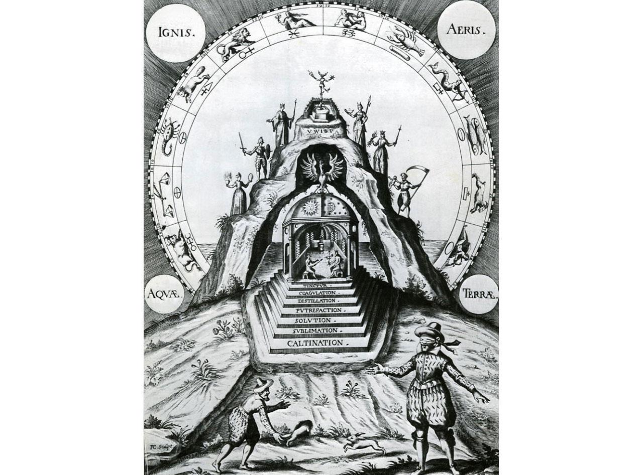 Grabados y dibujos alquimicos- Muntanya-8bo