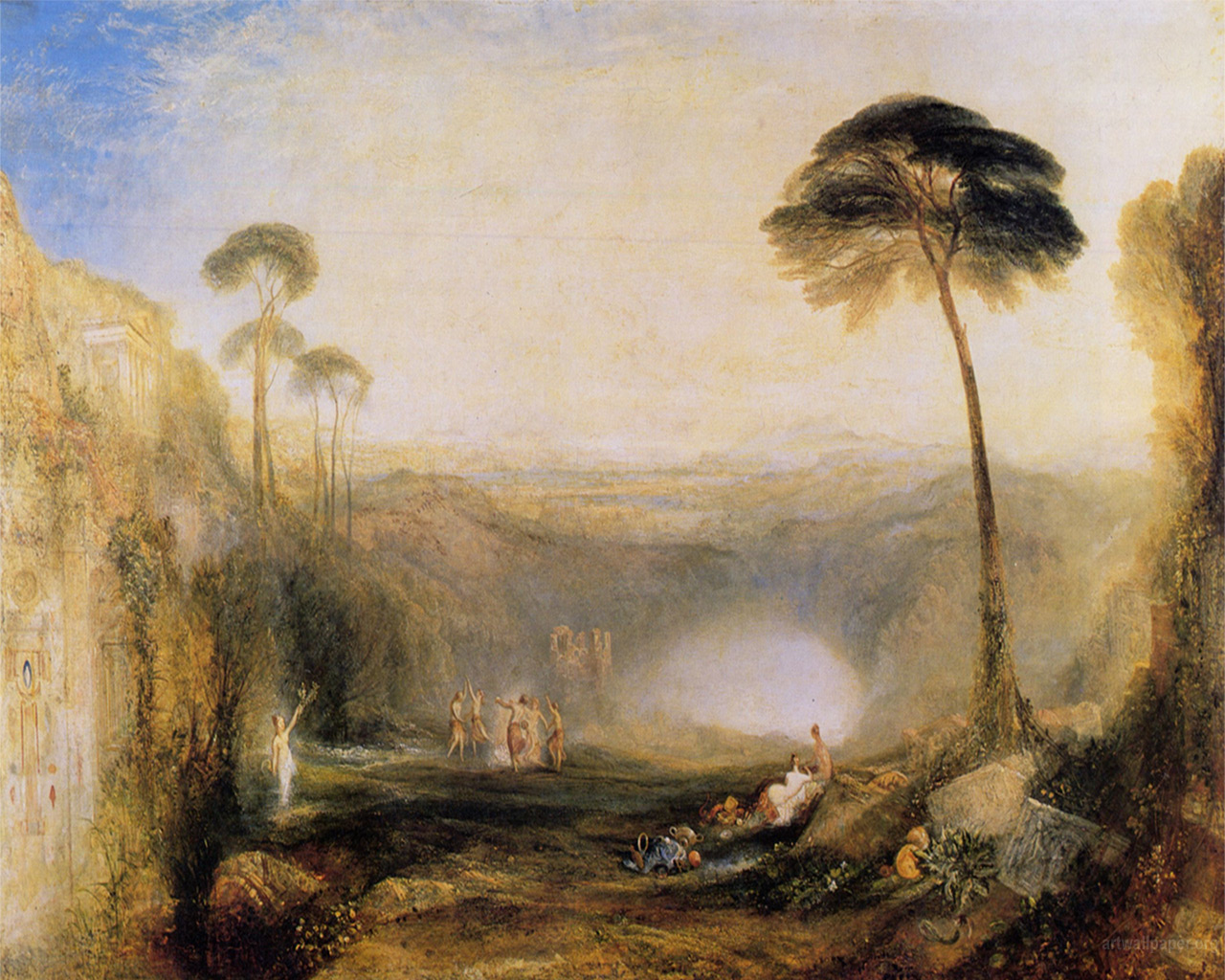 The Golden Bough by British painter J. M. W. Turner