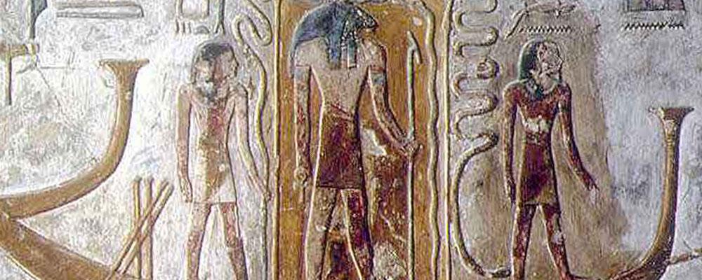 El Viaje del Sol en el antiguo Egipto