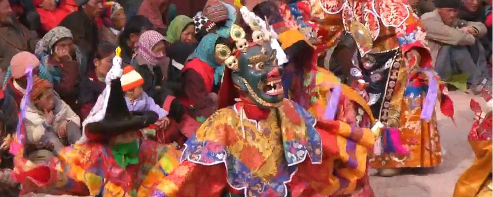 Danza sagrada. Tibet