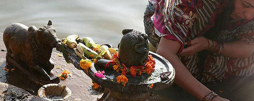 La piedra «linga» de Shiva