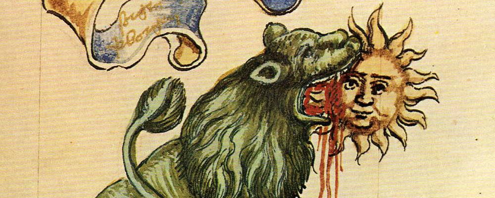 «La extraña historia de un león verde»