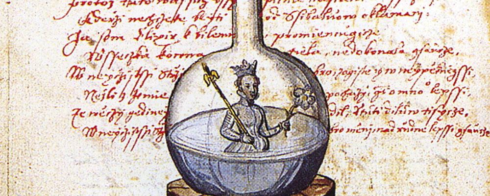 Imágenes del «Rosarium philosophorum»