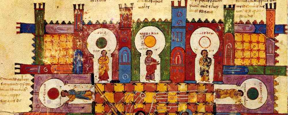 Discurso visual: El templo, una alegoría de la creación