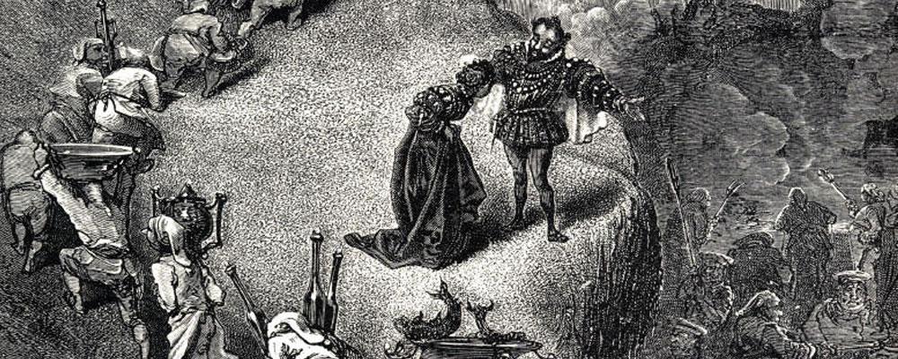 «Riquete del Copete» según el sentido cabalístico.