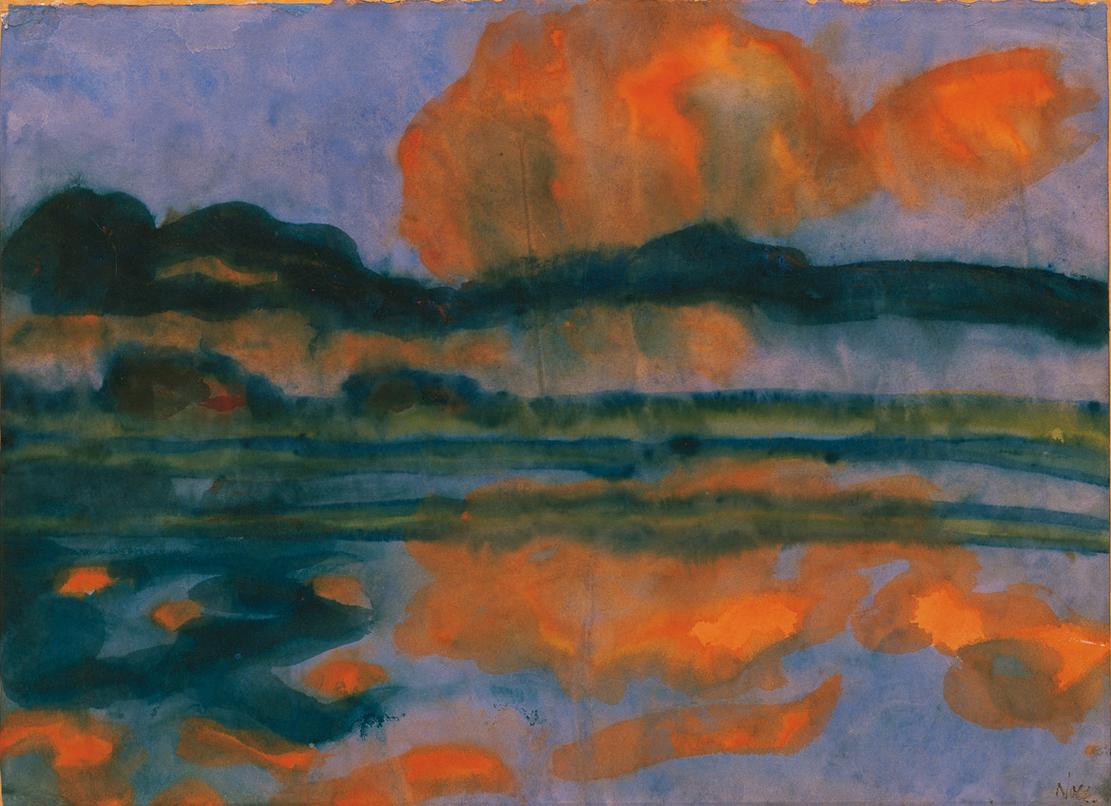 nolde-aquarell