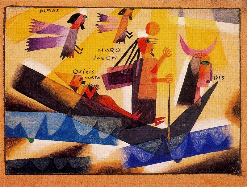 Alejandro Xul Solar - Almas de Egipto
