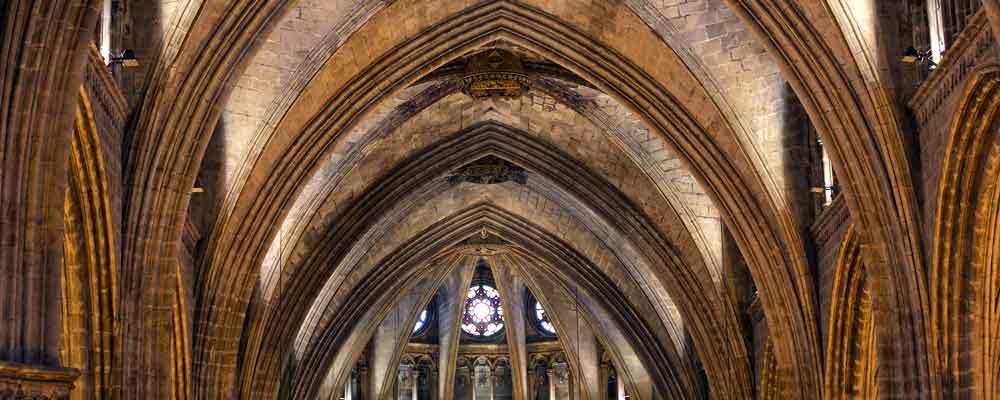 Los símbolos del arte gótico (Barcelona)