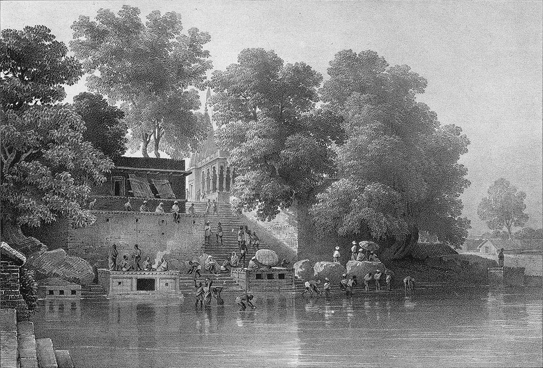 2.2Kupuldhara_Tulao,_Benares,_1834