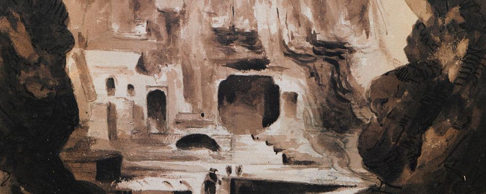 El oráculo de Trofonio: entre la consulta y la revelación iniciática