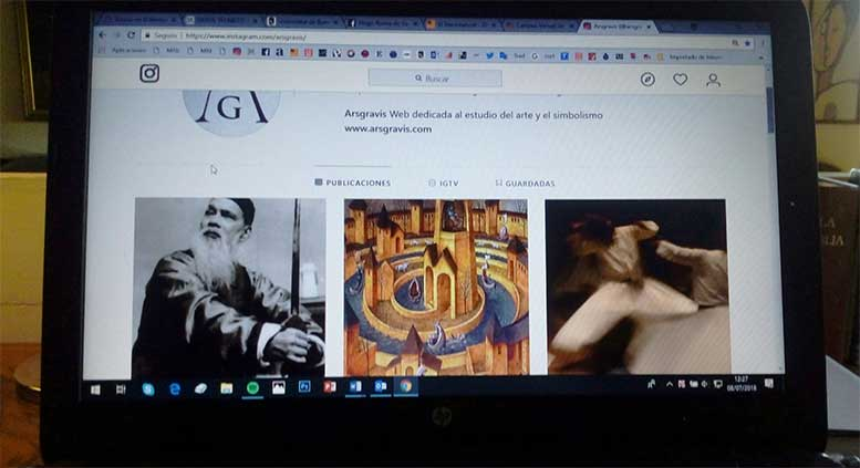 Arsgravis en INSTAGRAM