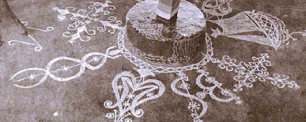 Los símbolos del vudú, los 'vevé'