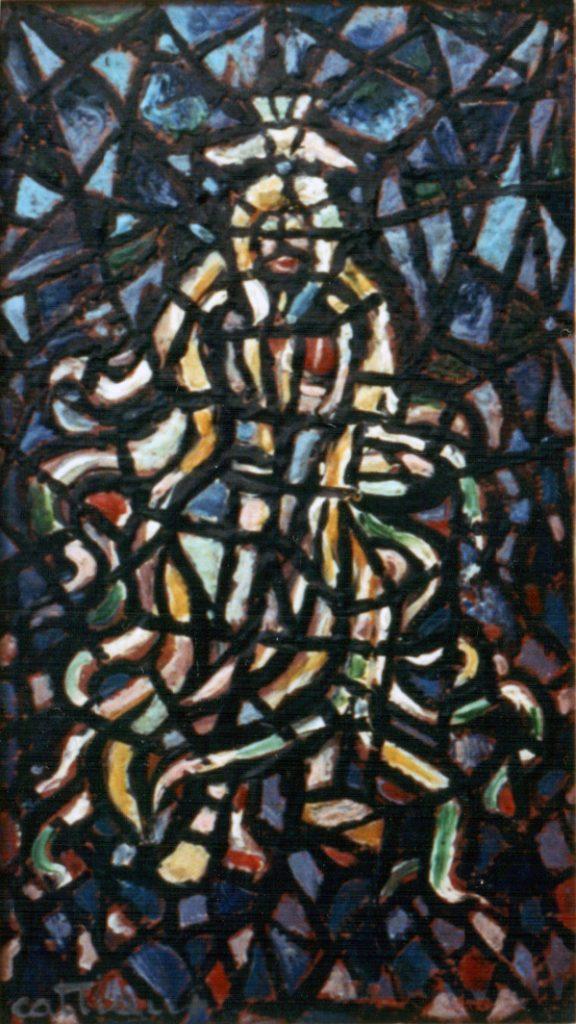 Pintura de L. Cattiaux, c. 1947