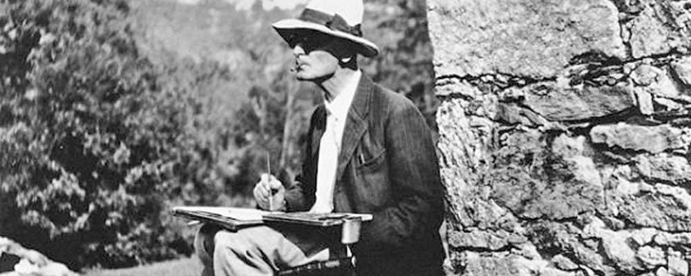 """«El poeta"""", relato de Hermann Hesse."""